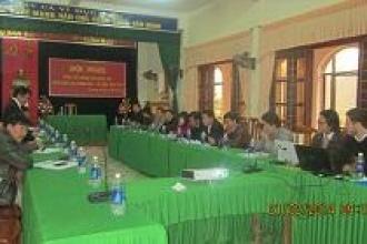 BQL VQG Phong Nha – Kẻ Bàng tổ chức Hội nghị công tác nghiên cứu khoa học năm 2014